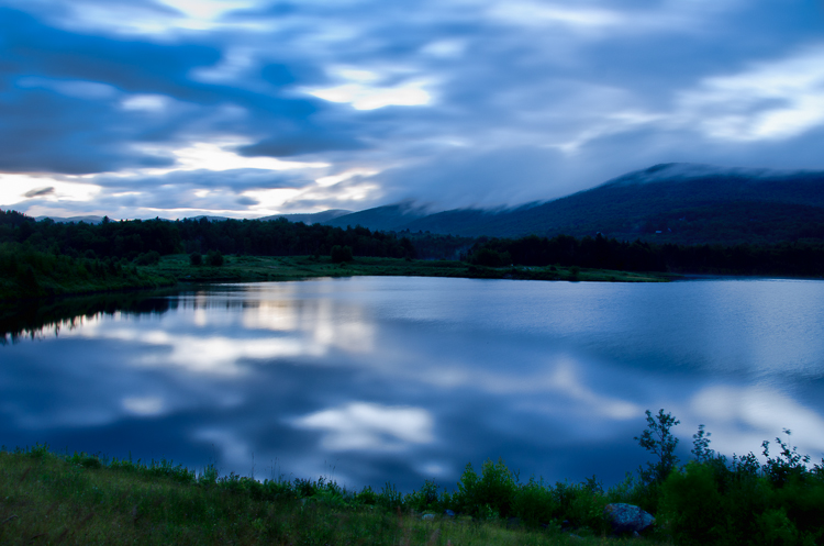 Blueberry Lake Before Sunrise