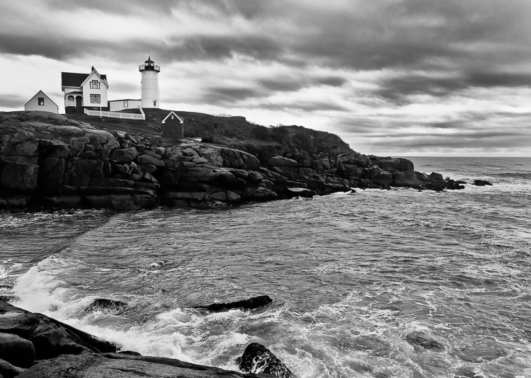 Nubble in Black and White