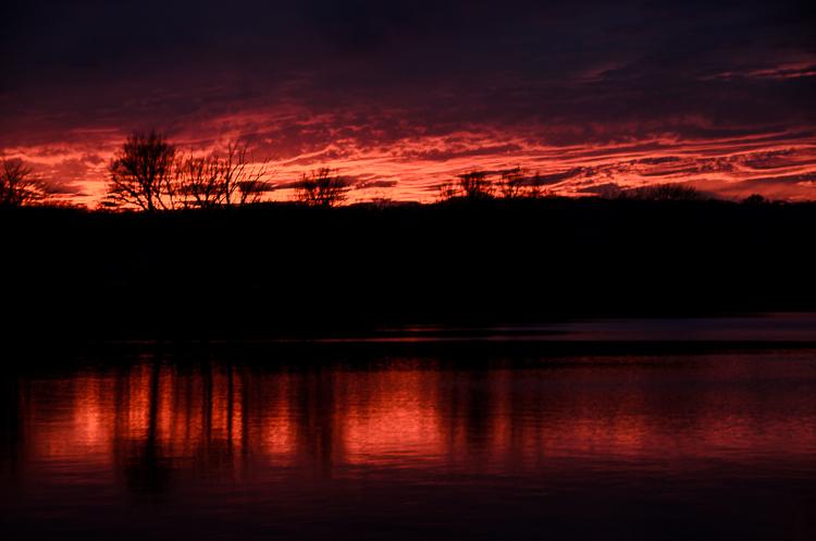 Winnemaug Sunset - Watertown CT
